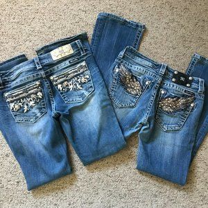 Pair of MissMe Bootcut Jeans
